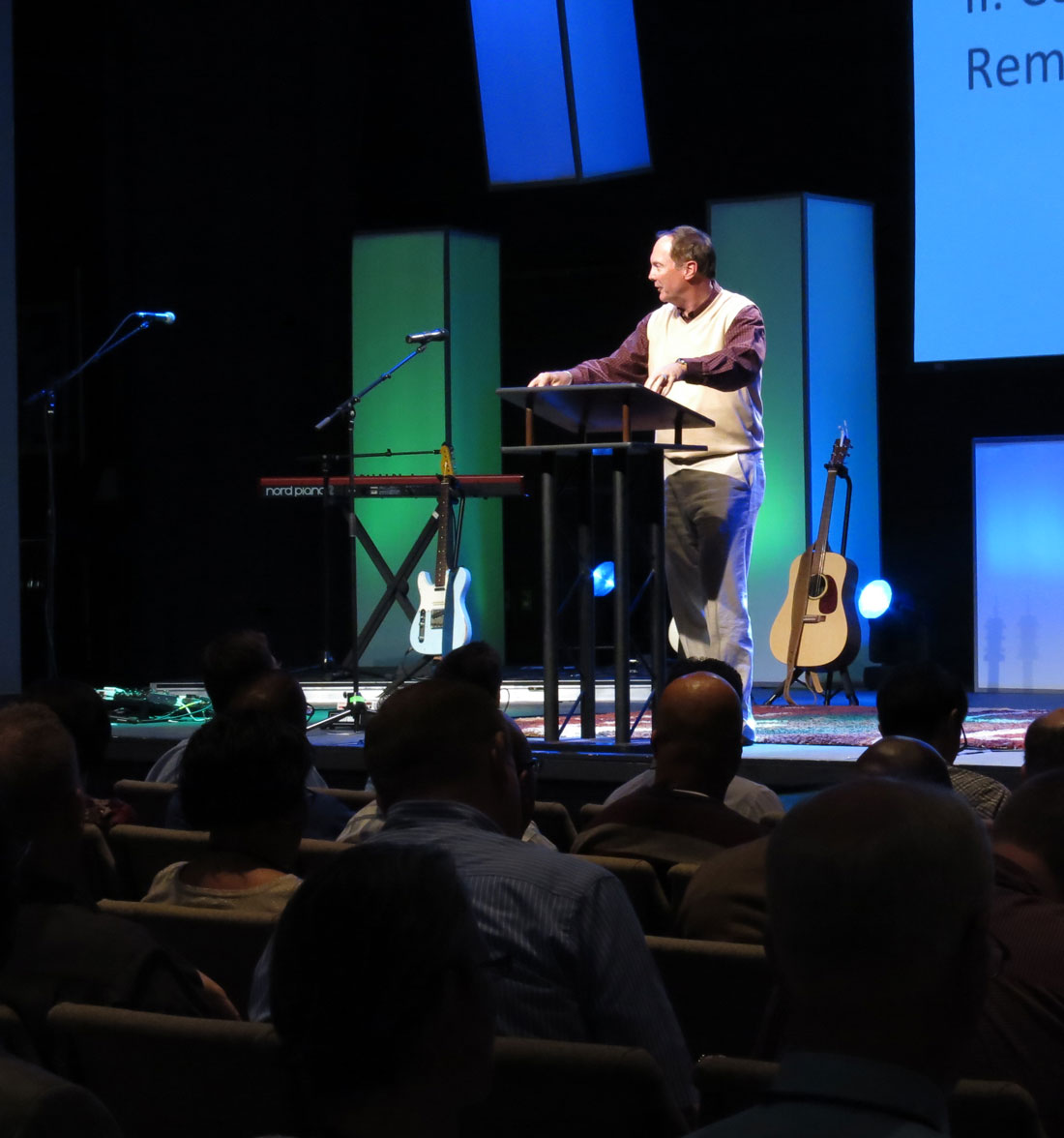 James Merritt at the National Conference on Preaching